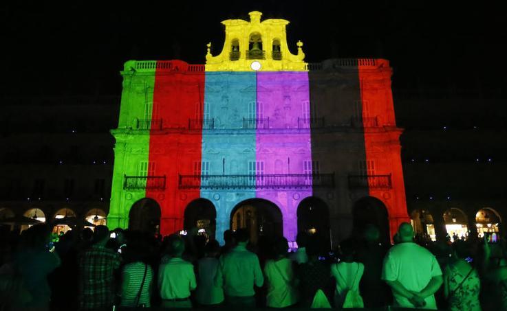 Inauguración del Festival de Luz y Vanguardias de Salamanca