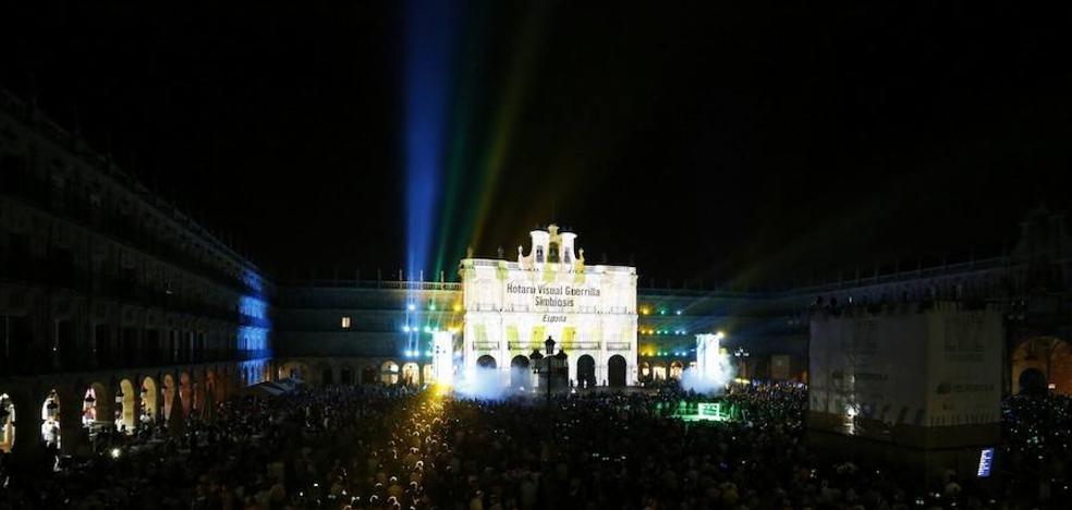 Salamanca llena sus calles para recibir al Festival de Luz y Vanguardias