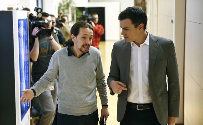 Iglesias pide a Sánchez que se acerque a ERC y no a Ciudadanos