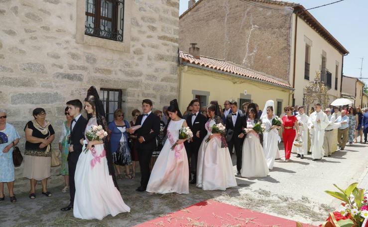 Procesión del Corpus en Ledesma (Salamanca)