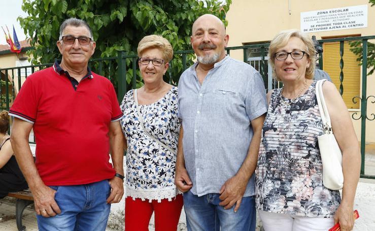 Pregón de las fiestas del Corpus en Aldeatejada (Salamanca)