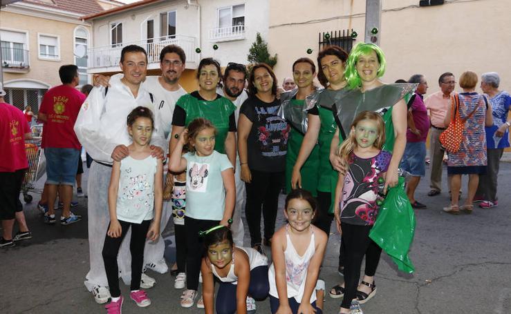 Peñas en las fiestas de el Corpus en Cabrerizos (Salamanca)