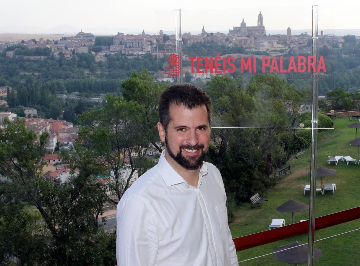 Tudanca visita Segovia