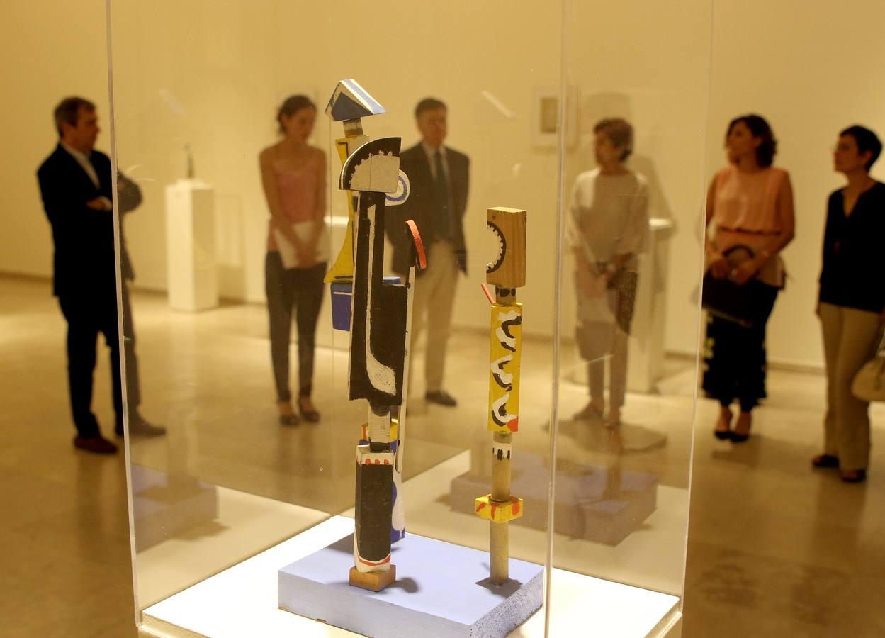 El Museo Esteban Vicente presenta la exposición 'Eugenio Granell y Esteban Vicente. Construcciones y Toys'