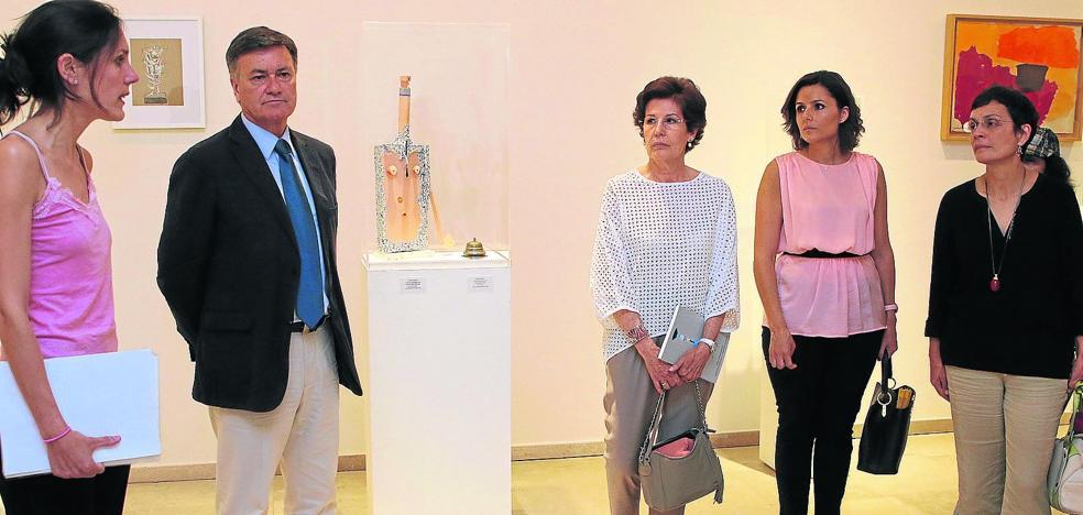 Una exposición conecta la obra de Esteban Vicente y Eugenio Granell a través de 64 piezas