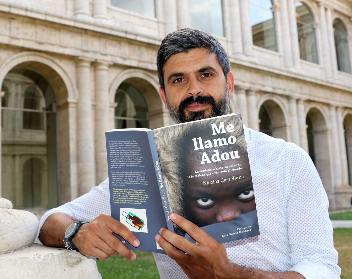 El periodista Nicolás Castellano presenta su libro 'Me llamo Adou' en el Aula de Cultura de El Norte de Castilla