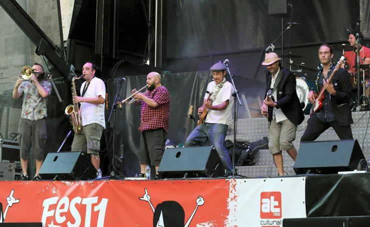 La Familia Iskariote en el Fest1may de Portugalete