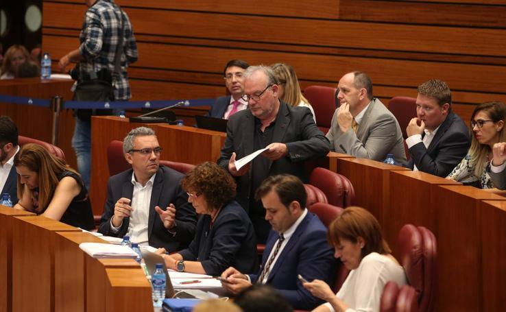 Pleno de los Presupuestos en las Cortes