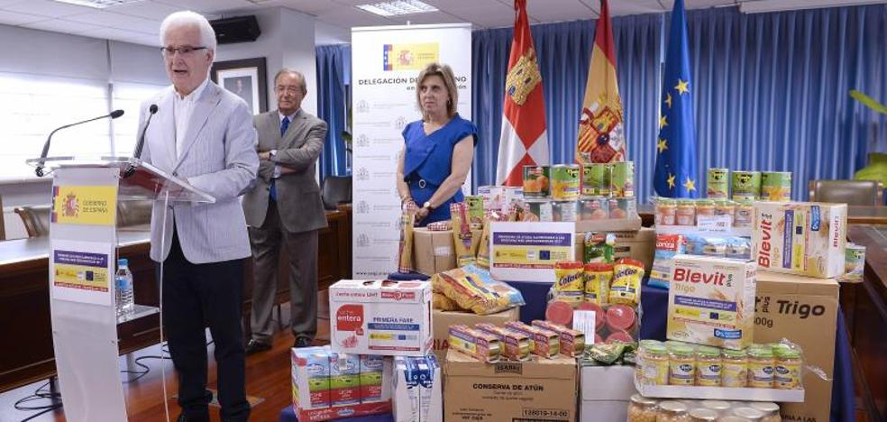 Más de 59.300 personas en Castilla y León se beneficiarán de la ayuda alimentaria