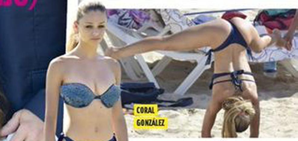 La 'guapi', del anuncio de Chicfy, 'capturada' en la playa