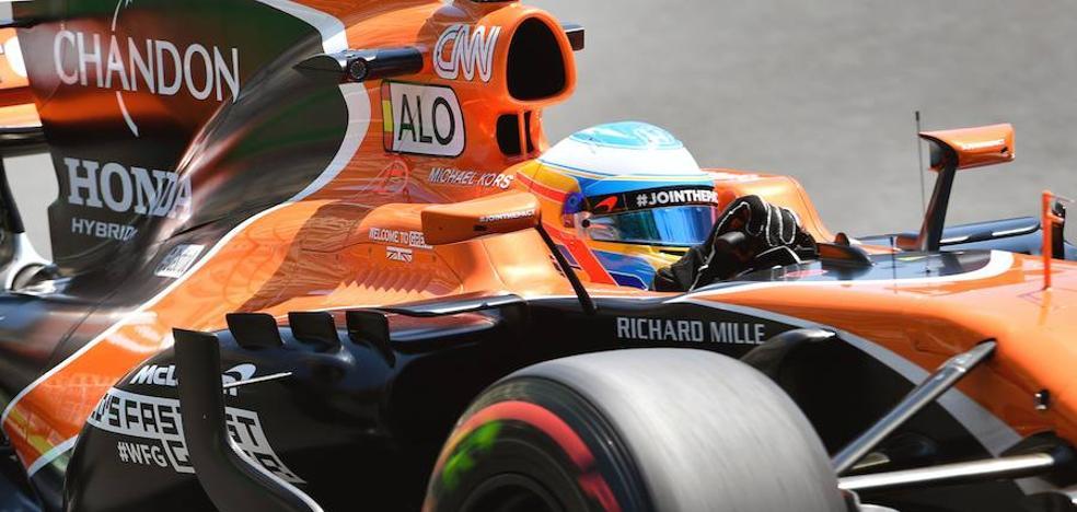 McLaren da jaque a Alonso
