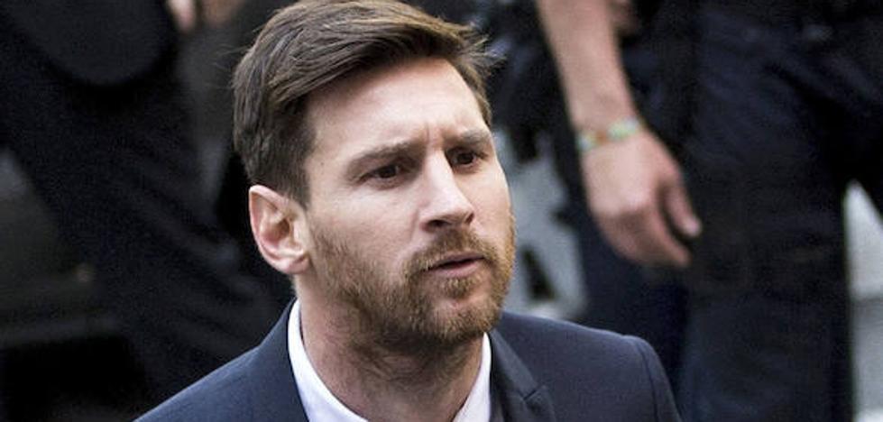 La Fiscalía acepta sustituir la pena a Messi por una multa de 510.000 euros