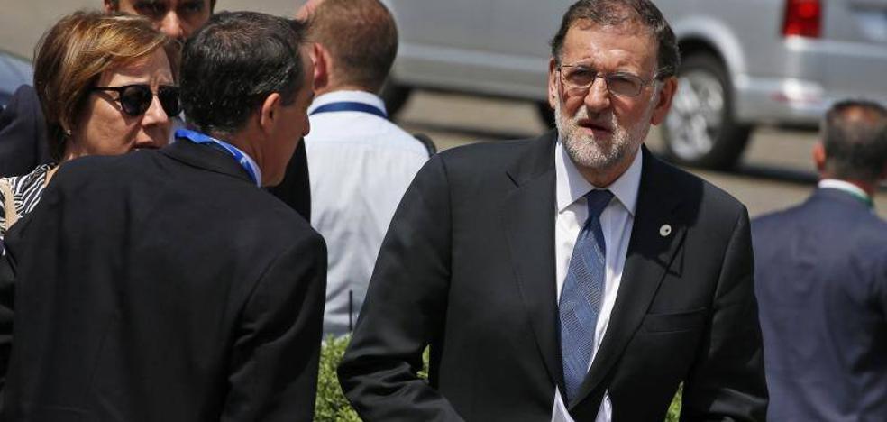 Rajoy: «Estoy dispuesto a hablar con Sánchez cuando lo desee»