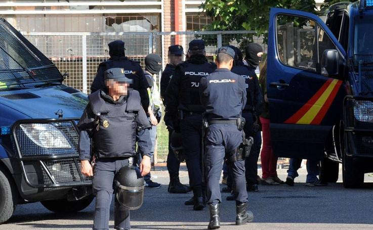 Redada policial en el barrio vallisoletano de Pajarillos