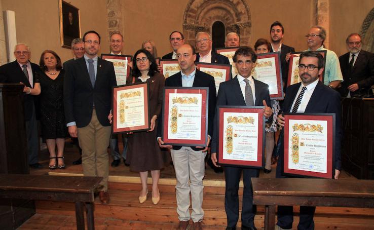 Entrega de los 'Premios Tierra de Segovia: sus hijos y sus obras'