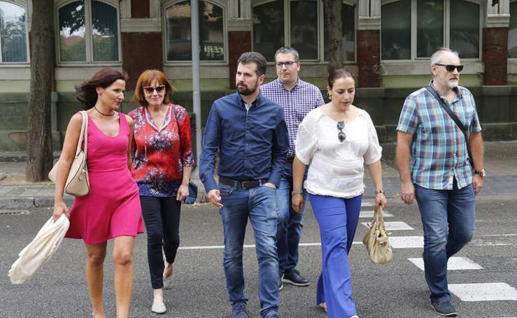 Tudanca visita Palencia