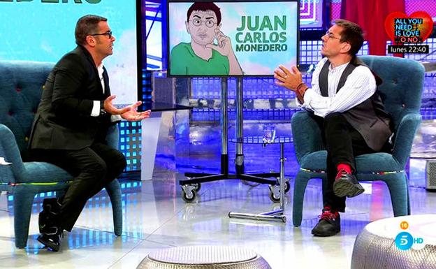 Guerra dialéctica entre Jorge Javier y Monedero