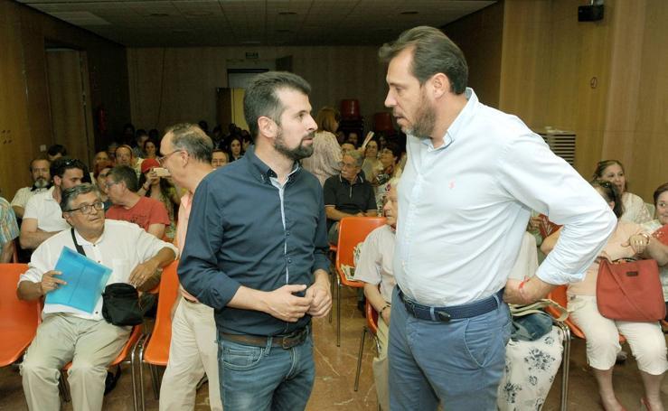 Tudanca visita Valladolid