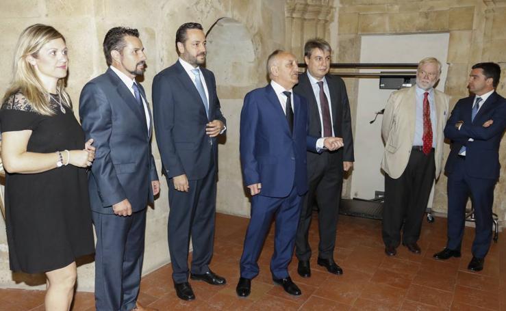 Entrega de los Premios Salvar el Archivo en Salamanca