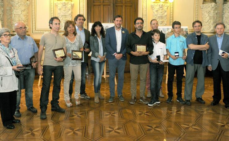 Entrega de premios del Concurso de Pintura Rápida San Pedro Regalado