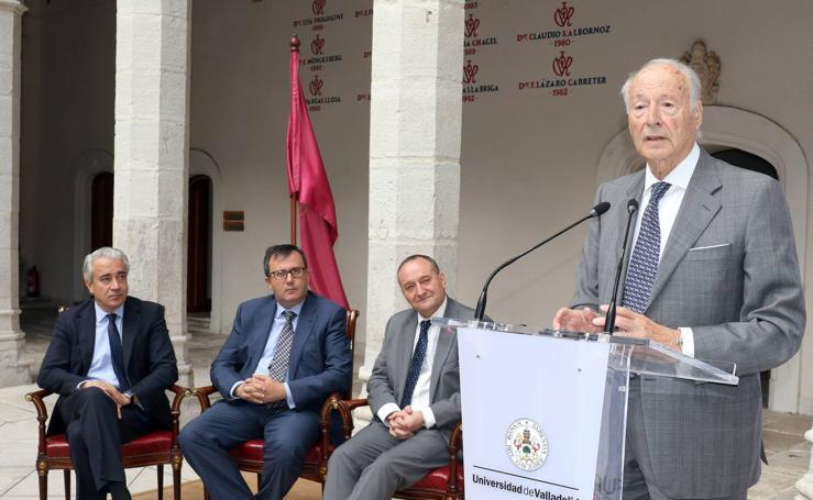 La UVA rinde homenaje a las empresas con las que mantiene convenios de colaboración