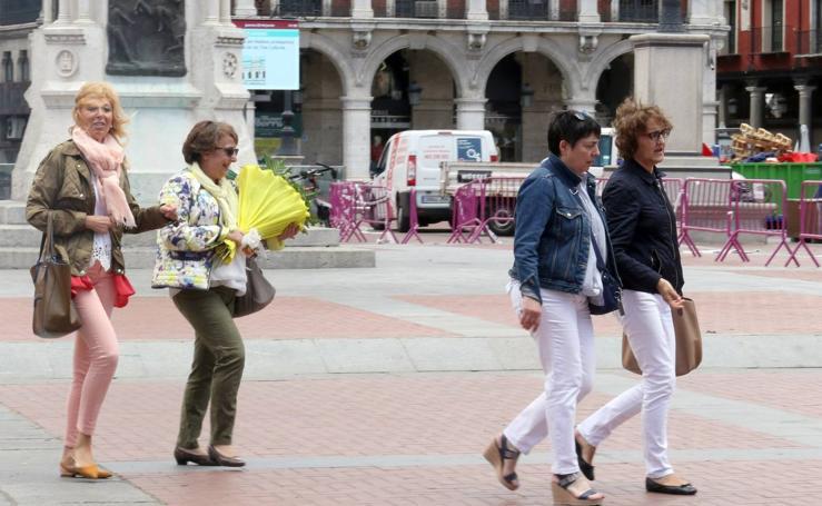 Valladolid se pone la chaqueta