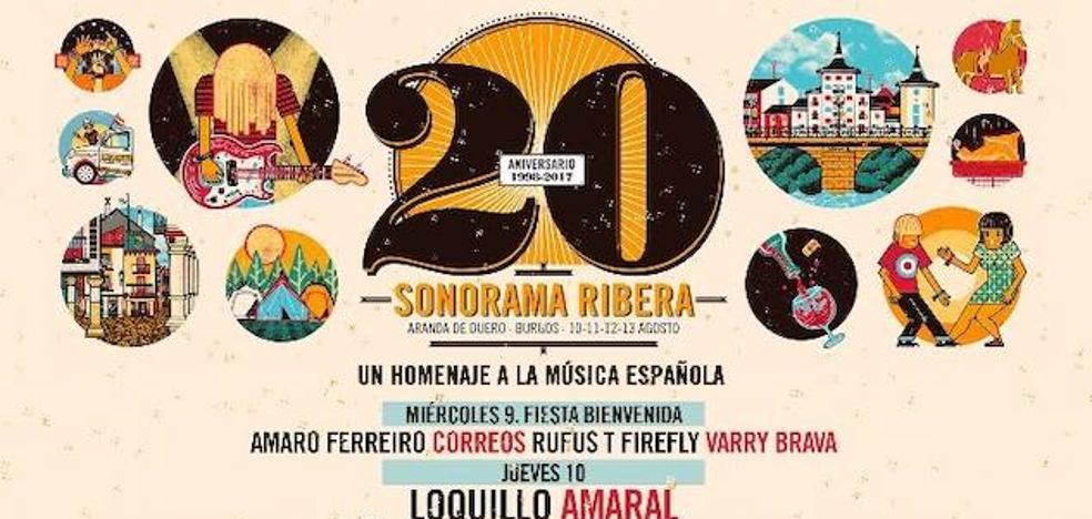 Camela y Fangoria estarán en Sonorama Ribera
