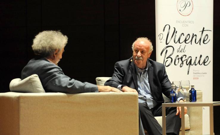 Vicente del Bosque participa en Valladolid en el programa de la Junta 'Los mejores de los nuestros'