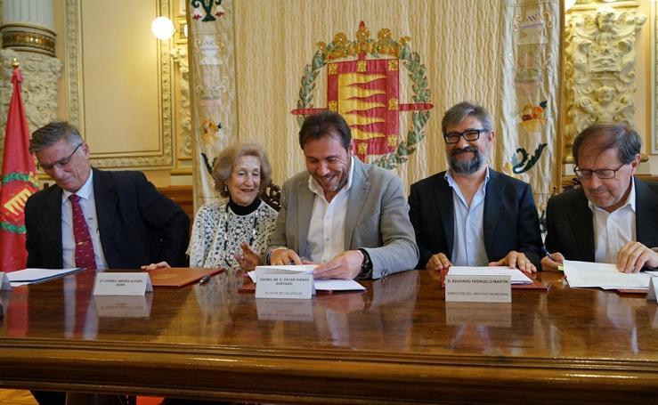 La familia Jiménez-Alfaro dona al Ayuntamiento documentos sobre los inicios de FASA
