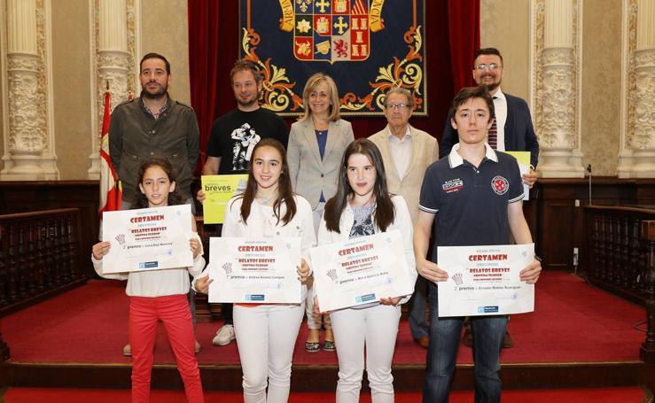 Entrega de premios del XIII Certamen provincial de Relatos Breves Cristina Tejedor