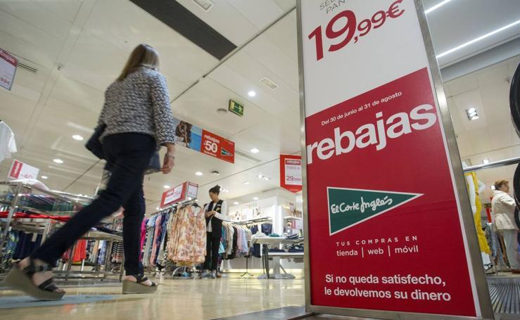 Comienzan las rebajas en Valladolid