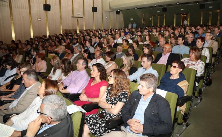 Graduación de los alumnos del Grado de Enfermeria en Palencia