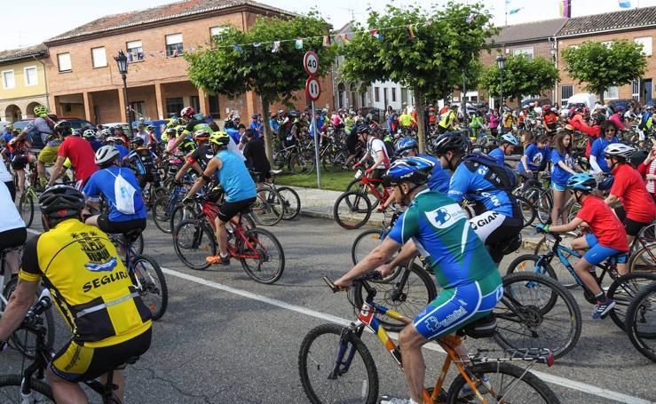 Prueba en cicloturismo 'Rutavones' en Palencia