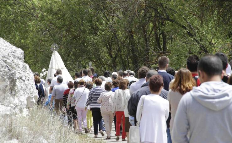 Romería de la virgen del Olmar en Canalejas de Peñafiel