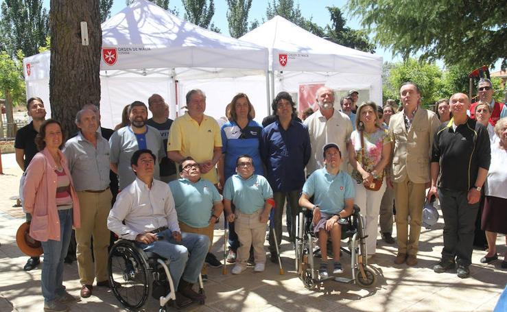 Visita del ministro de Educación, Méndez de Vigo a Villarcázar