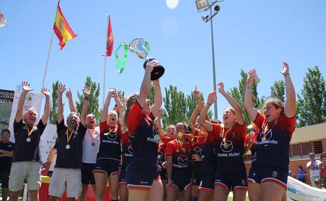 Majadahonda gana Copa de la Reina al imponerse en la serie de Valladolid7s
