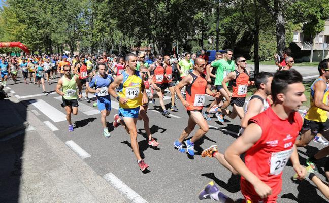 Sangrador y Hernández se imponen en la carrera popular Avenida de Madrid
