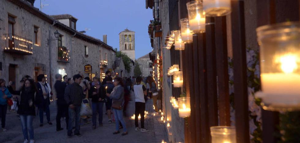 Pedraza se calienta con música, velas y mantas
