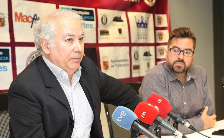 Rueda de prensa de CD Palencia