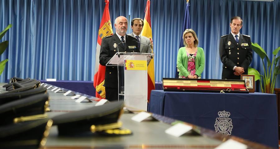 Presentación del nuevo jefe superior de Policía de Castilla y León, Jorge Zurita
