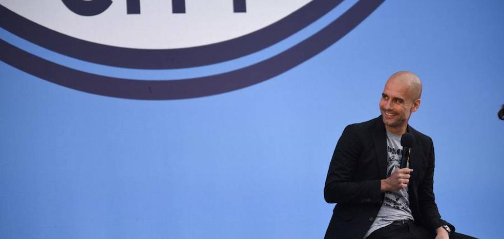 Guardiola: «Gané seis ligas de siete, y de la que perdí, tendríamos que debatir»