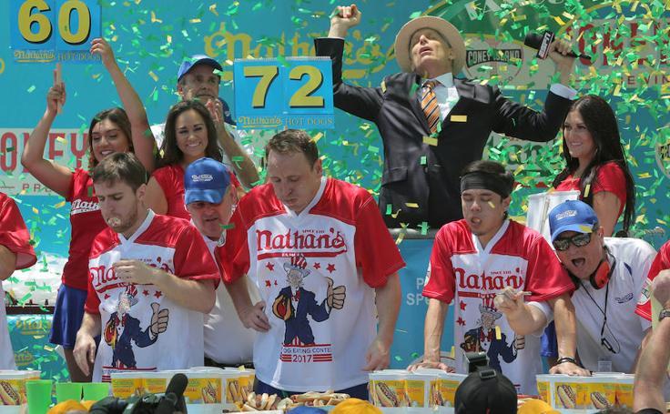 Concurso de 'hot dogs' de Coney Island