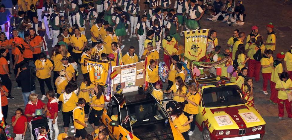 Las peñas piden 400.000 euros más para las fiestas de Palencia
