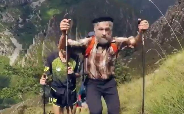 El leonés Pablo Villa se convierte en un sorprendente corredor de 76 años