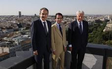 Tres expresidentes y una cita con la historia