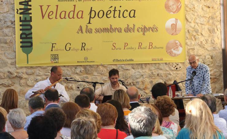 Velada Poética con el ganador del premio Francisco Pino de poesía