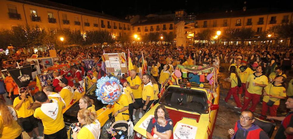 La asociación reitera su apoyo a la petición del Consejo de Peñas de Palencia