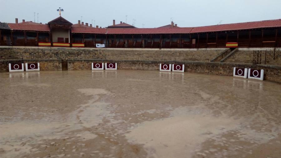 Las tormentas anegan la provincia de Valladolid