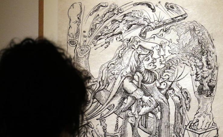 Exposición de dibujos de Dalí
