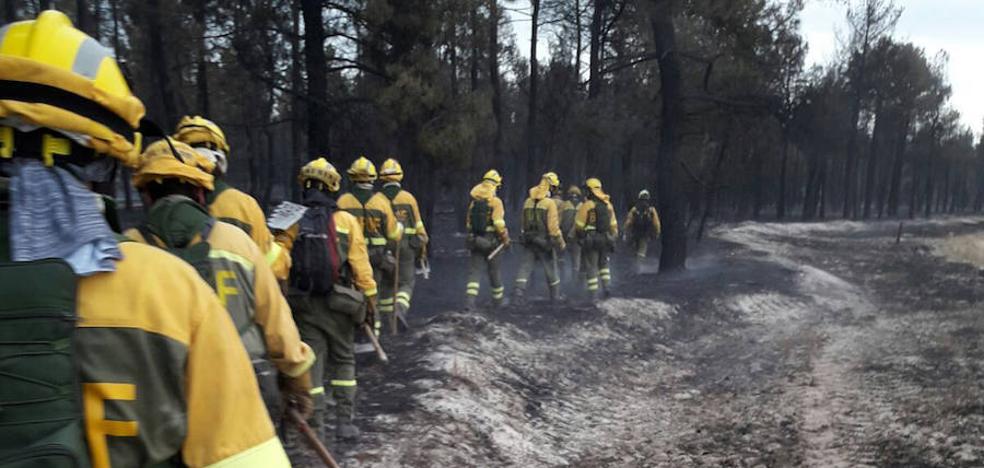 Rebajado al nivel 0 el incendio de Navalilla, que ha afectado a 460 hectáreas